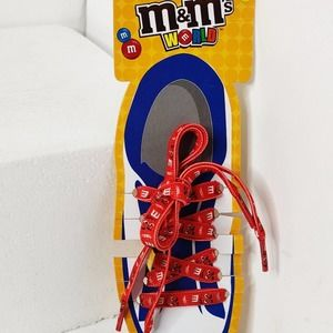 M&M's Red Shoelaces